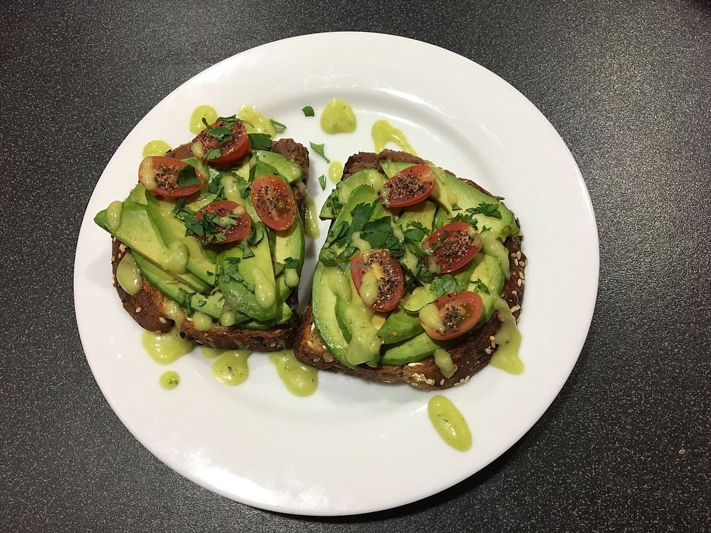 """Photo of Infusa Cafe  by <a href=""""/members/profile/XavierGonzales"""">XavierGonzales</a> <br/>Avocado wheat toast <br/> February 3, 2018  - <a href='/contact/abuse/image/110729/354382'>Report</a>"""