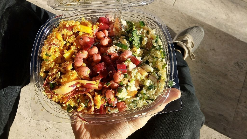 "Photo of No. 43  by <a href=""/members/profile/Mr.Vegan"">Mr.Vegan</a> <br/>Quinoa, Chickpea, Cabbage <br/> January 30, 2018  - <a href='/contact/abuse/image/110740/352812'>Report</a>"