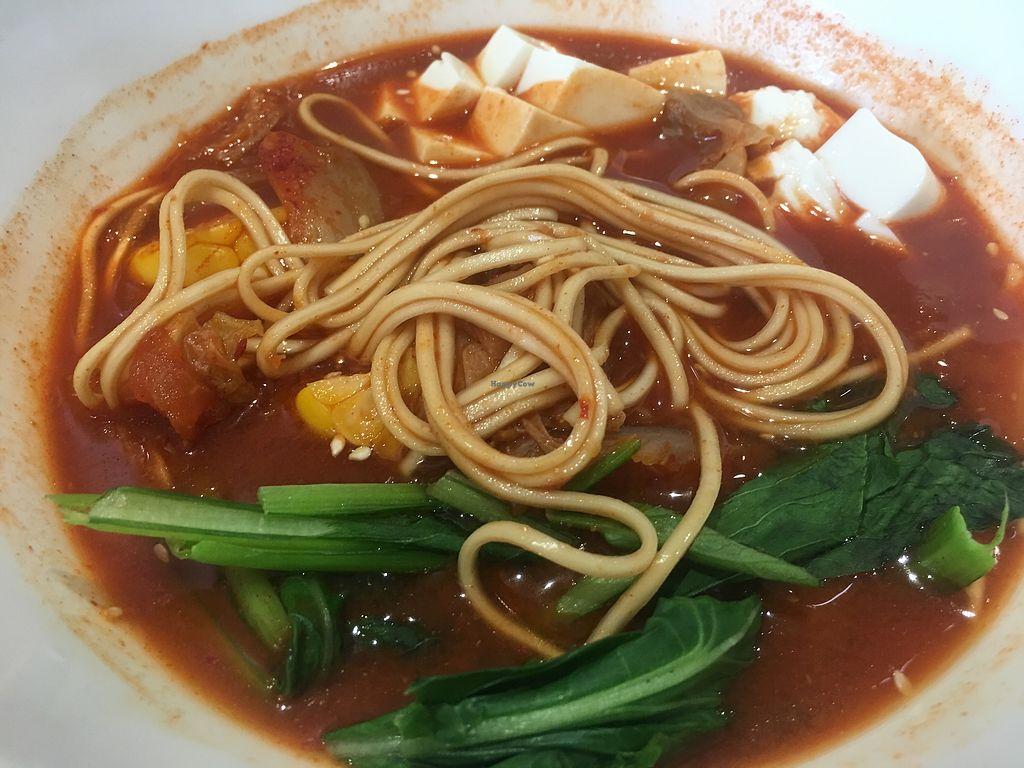 "Photo of O'bean Organic Soya Vegetarian Restaurant  by <a href=""/members/profile/BernardKoh"">BernardKoh</a> <br/>Kimchi Soup Ramen <br/> February 24, 2018  - <a href='/contact/abuse/image/110791/363071'>Report</a>"