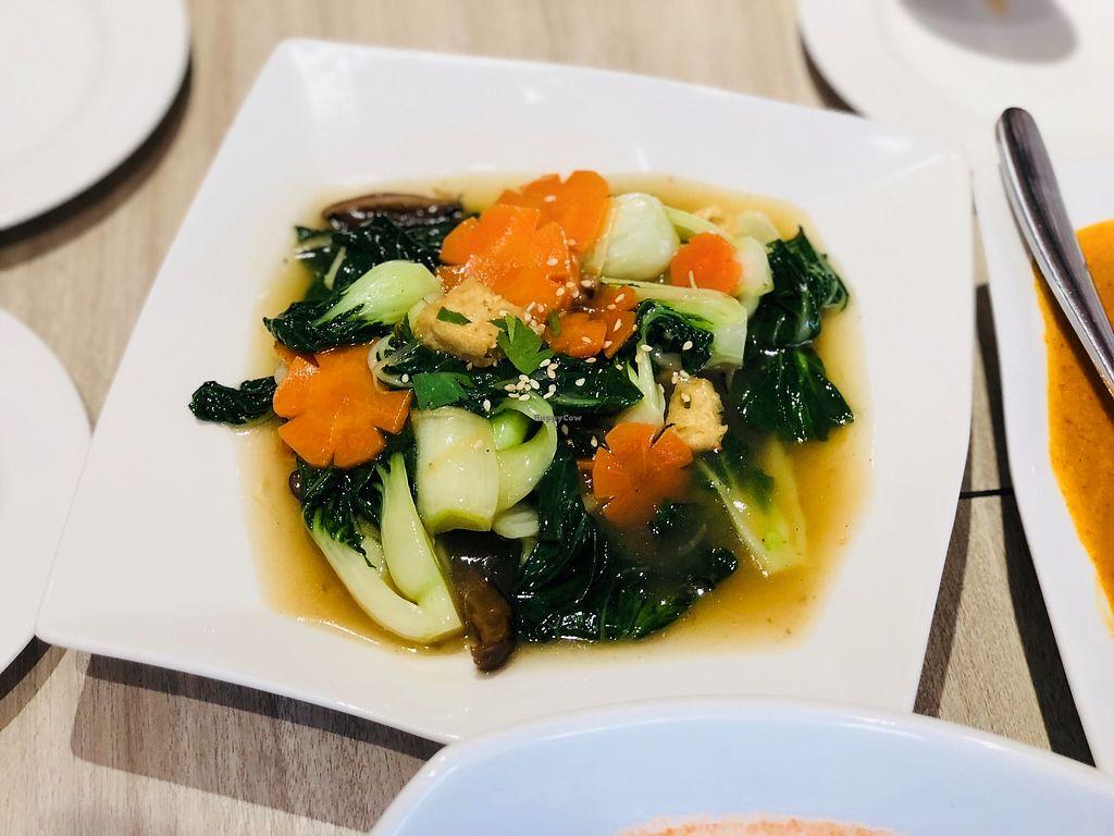 "Photo of O'bean Organic Soya Vegetarian Restaurant  by <a href=""/members/profile/CherylQuincy"">CherylQuincy</a> <br/>Stir fried nai bai  <br/> February 25, 2018  - <a href='/contact/abuse/image/110791/363690'>Report</a>"