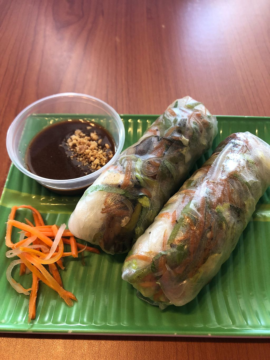 "Photo of Pho Brothers  by <a href=""/members/profile/mishele30"">mishele30</a> <br/>Tofu summer rolls <br/> February 8, 2018  - <a href='/contact/abuse/image/110798/356556'>Report</a>"