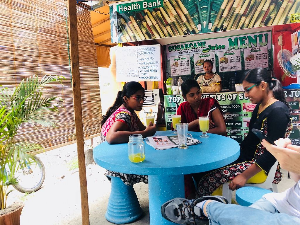 """Photo of Cane Juice Cafe  by <a href=""""/members/profile/Durianwalker"""">Durianwalker</a> <br/>Sugarcanejuice raw fresh pressed vegan <br/> March 6, 2018  - <a href='/contact/abuse/image/110833/367369'>Report</a>"""