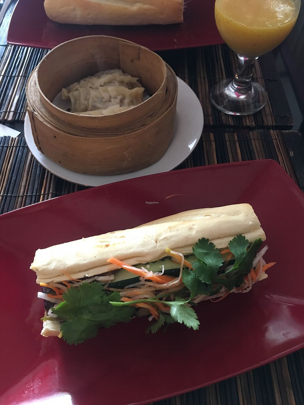 """Photo of Indochine Restaurant  by <a href=""""/members/profile/ShannonTran"""">ShannonTran</a> <br/>Aubergine Bahn mi <br/> February 1, 2018  - <a href='/contact/abuse/image/110836/353410'>Report</a>"""