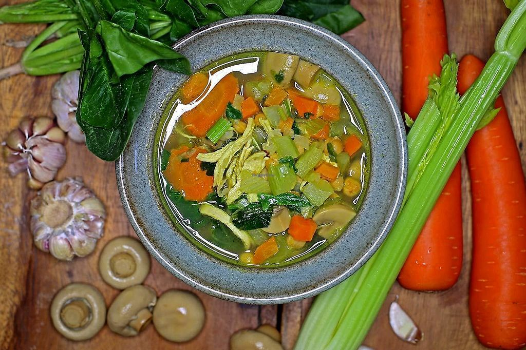 """Photo of Tavoos Garden Restaurant  by <a href=""""/members/profile/tavoosgardenSR"""">tavoosgardenSR</a> <br/>Immune Boosting Detox Soup <br/> February 1, 2018  - <a href='/contact/abuse/image/110840/353440'>Report</a>"""