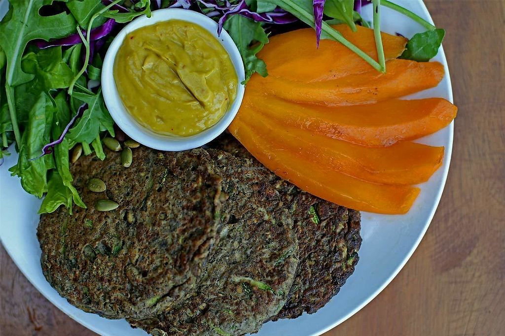 """Photo of Tavoos Garden Restaurant  by <a href=""""/members/profile/tavoosgardenSR"""">tavoosgardenSR</a> <br/>Moringa Fritters with Mango Sauce <br/> February 1, 2018  - <a href='/contact/abuse/image/110840/353442'>Report</a>"""