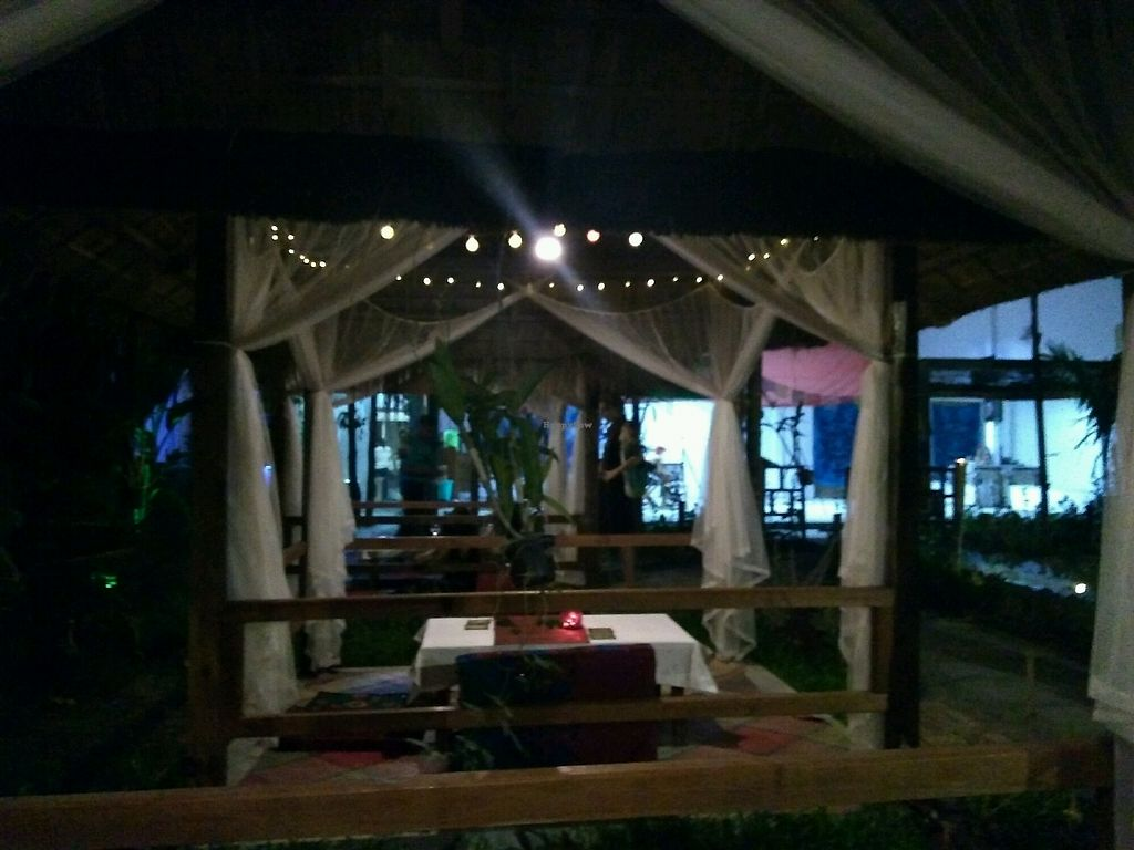 """Photo of Tavoos Garden Restaurant  by <a href=""""/members/profile/NomadicEarthbagger"""">NomadicEarthbagger</a> <br/>Dining area <br/> February 21, 2018  - <a href='/contact/abuse/image/110840/362081'>Report</a>"""