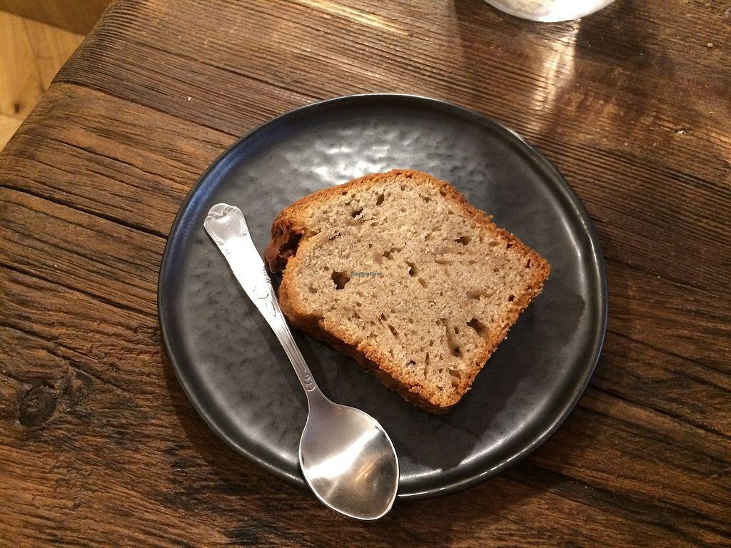 "Photo of Saint Pearl  by <a href=""/members/profile/LisaCupcake"">LisaCupcake</a> <br/>vegan banana cake <br/> January 31, 2018  - <a href='/contact/abuse/image/110844/353344'>Report</a>"