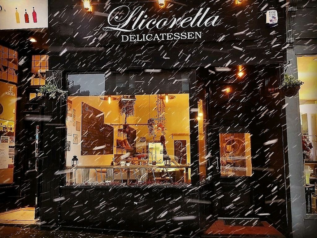 "Photo of Llicorella Delicatessen  by <a href=""/members/profile/craigmc"">craigmc</a> <br/>snow <br/> March 25, 2018  - <a href='/contact/abuse/image/110847/376001'>Report</a>"