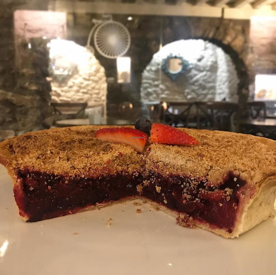 """Photo of The Penny Farthing Cafe & Wine Bar  by <a href=""""/members/profile/community5"""">community5</a> <br/>Apple and mixed berry fruit crumble <br/> February 4, 2018  - <a href='/contact/abuse/image/110869/355007'>Report</a>"""