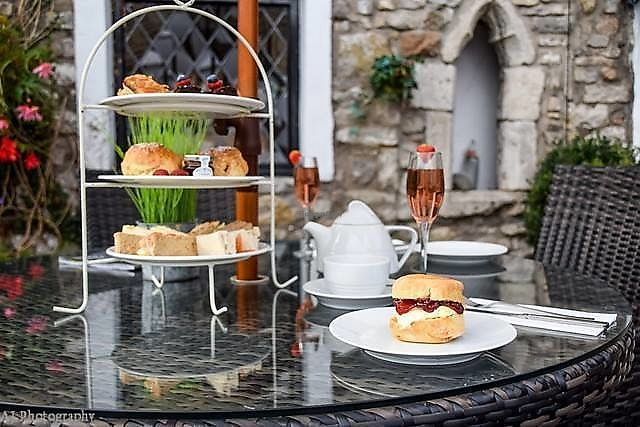 """Photo of The Penny Farthing Cafe & Wine Bar  by <a href=""""/members/profile/elkilany75"""">elkilany75</a> <br/>Afternoon tea serve Monday to Saturday from 2:30pm   <br/> February 5, 2018  - <a href='/contact/abuse/image/110869/355244'>Report</a>"""