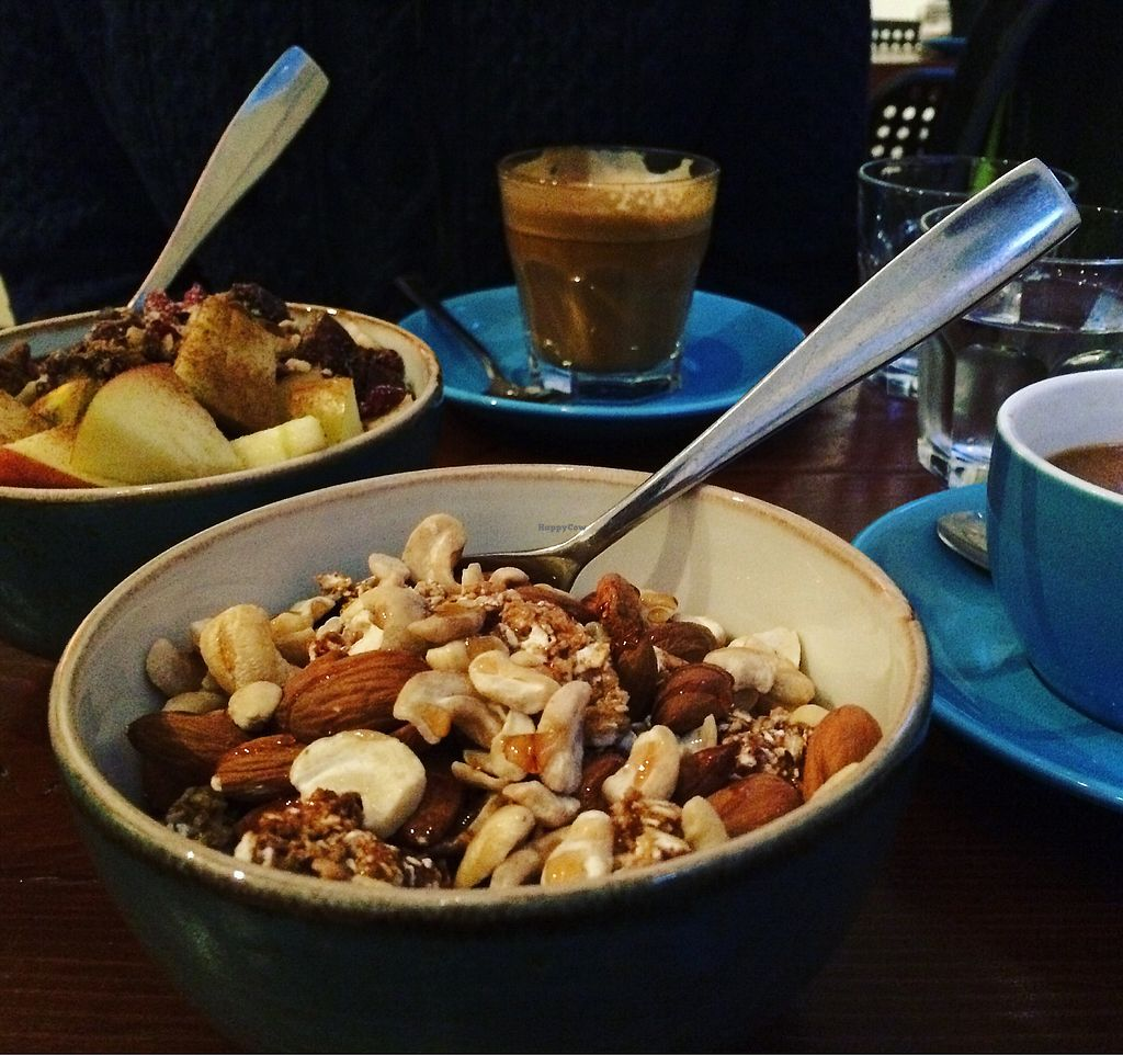 """Photo of Bristol Porridge Project  by <a href=""""/members/profile/KylaJack"""">KylaJack</a> <br/>Nutty porridge with maple syrup  <br/> March 28, 2018  - <a href='/contact/abuse/image/110917/377366'>Report</a>"""