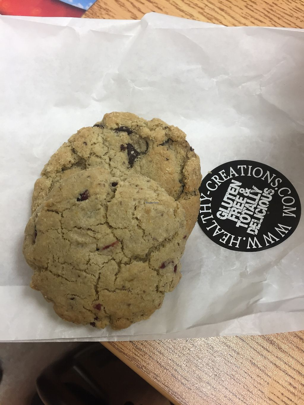 """Photo of Healthy Creations  by <a href=""""/members/profile/Danick"""">Danick</a> <br/>Bad picture. Cookies <br/> February 1, 2018  - <a href='/contact/abuse/image/110922/353774'>Report</a>"""