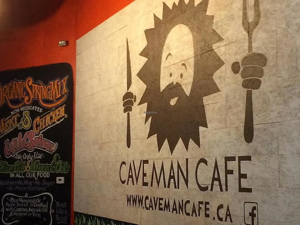 """Photo of Caveman Cafe  by <a href=""""/members/profile/Mdrutz"""">Mdrutz</a> <br/>At the entrance <br/> February 2, 2018  - <a href='/contact/abuse/image/110936/353929'>Report</a>"""