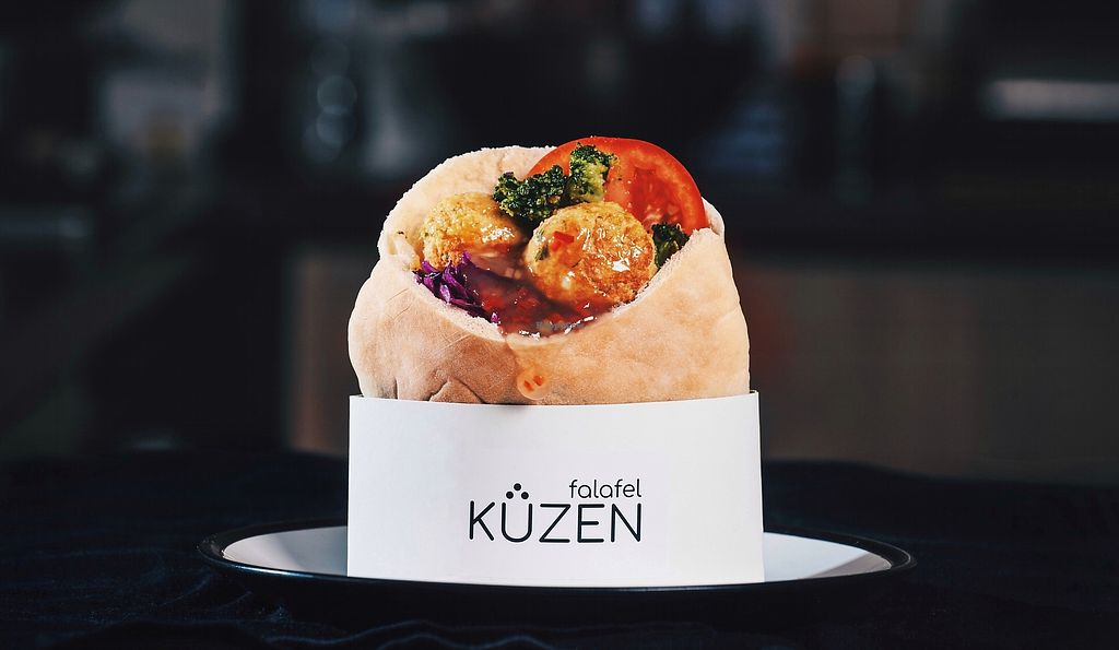 "Photo of Kuzen Falafel  by <a href=""/members/profile/EugeniaTsy"">EugeniaTsy</a> <br/>Falafel in pita with sweet-chili sauce <br/> February 5, 2018  - <a href='/contact/abuse/image/110939/355367'>Report</a>"