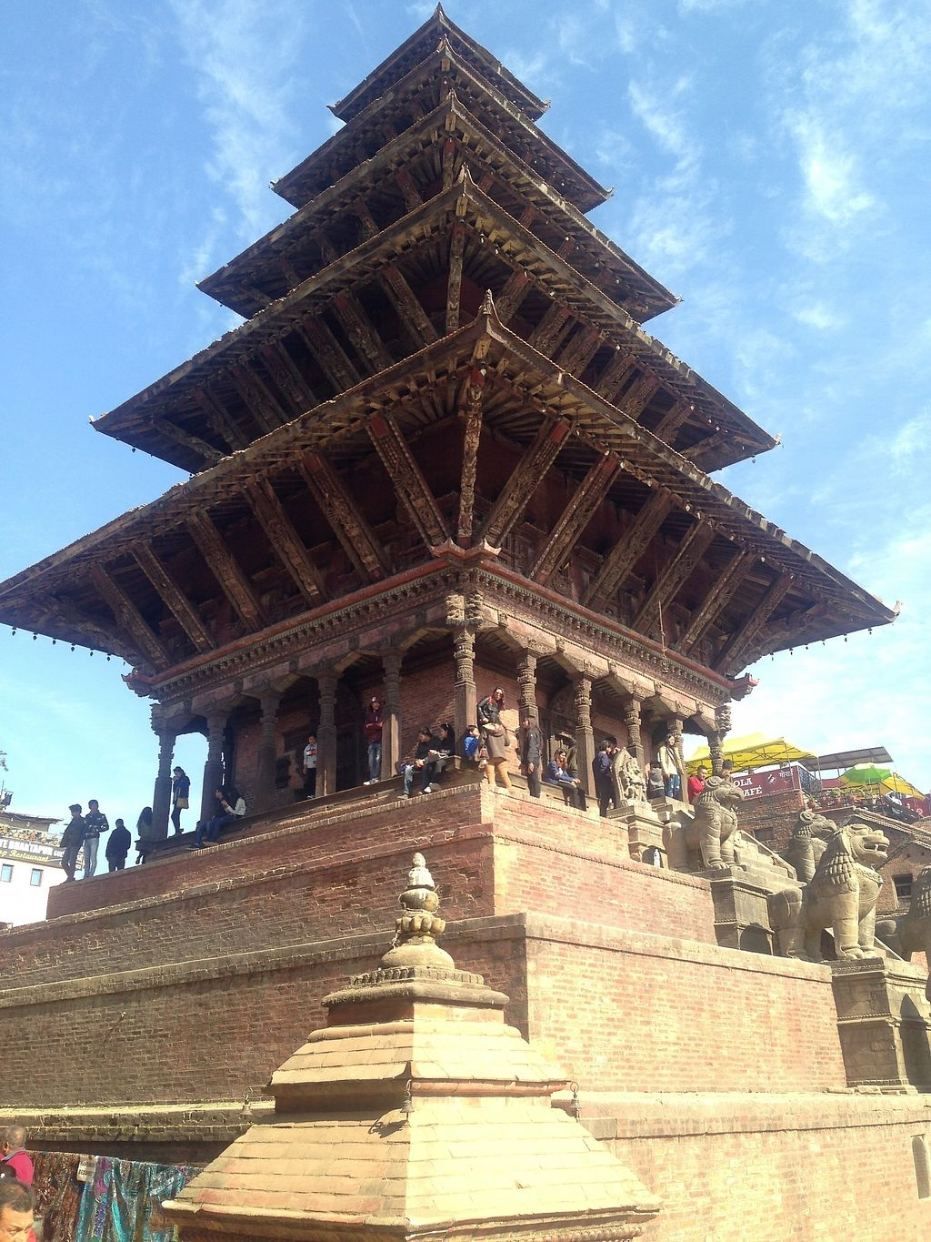 "Photo of Veggie Nepal  by <a href=""/members/profile/VeggieNepal"">VeggieNepal</a> <br/>Mahalaxmi Temple in Bhaktapur Durbar Square .  <br/> February 2, 2018  - <a href='/contact/abuse/image/110943/353836'>Report</a>"