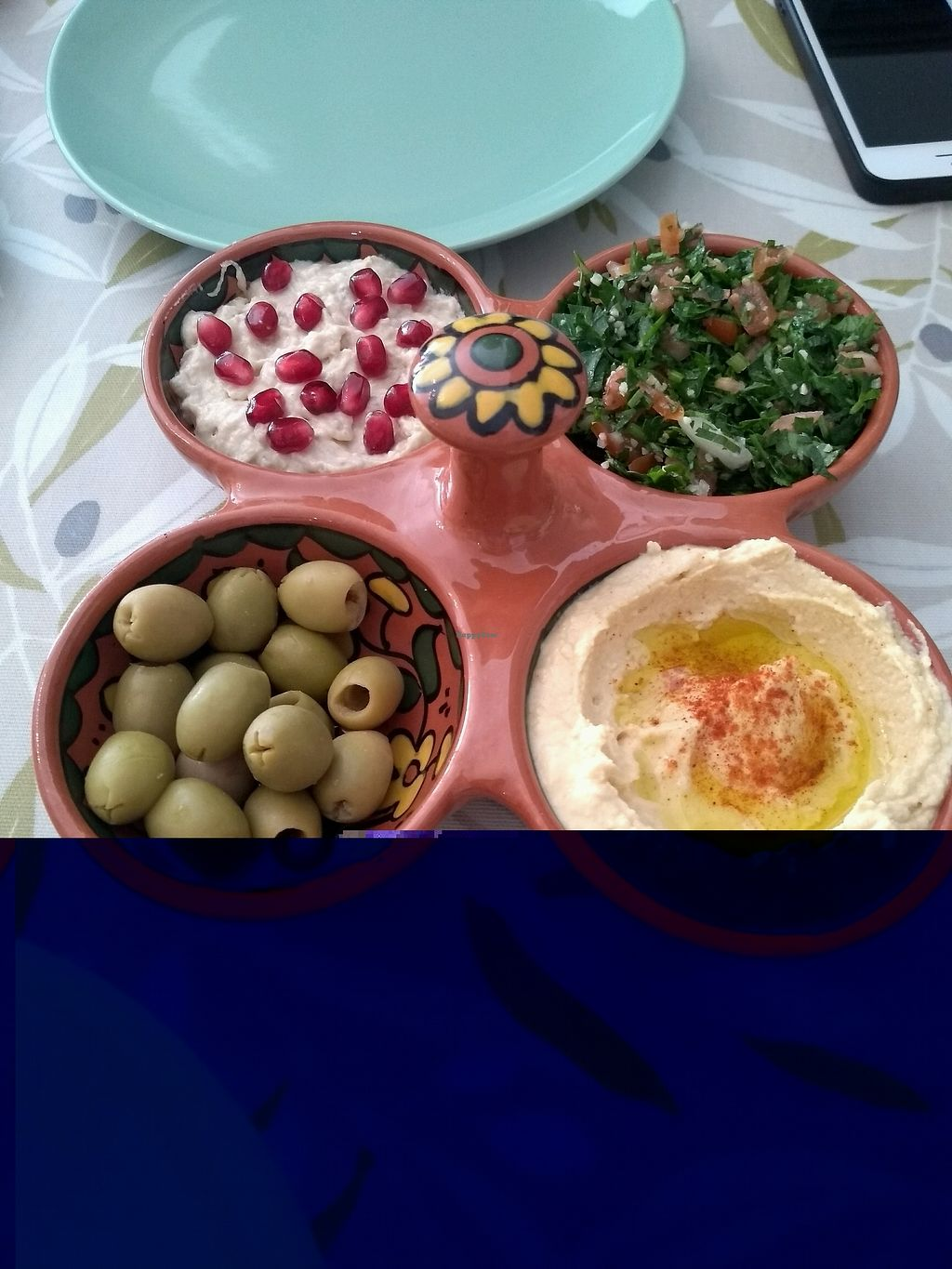 """Photo of Cafe Palestina  by <a href=""""/members/profile/sparklelilz"""">sparklelilz</a> <br/>Delicious Palestinian breakfast! <br/> February 9, 2018  - <a href='/contact/abuse/image/110946/356814'>Report</a>"""