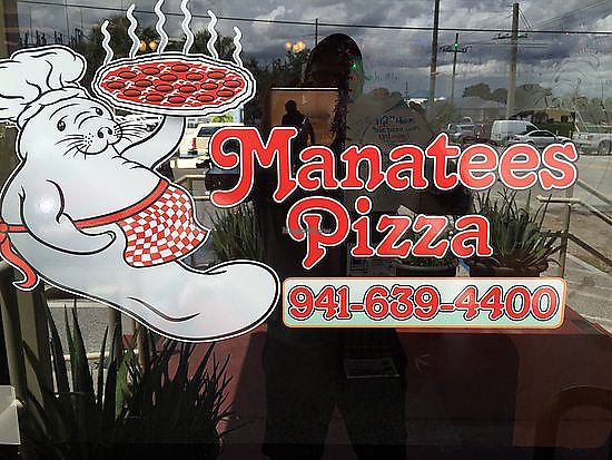 """Photo of Manatees Pizza  by <a href=""""/members/profile/SeekerOfTheWay"""">SeekerOfTheWay</a> <br/>Manatees Pizza <br/> February 10, 2018  - <a href='/contact/abuse/image/111021/357233'>Report</a>"""
