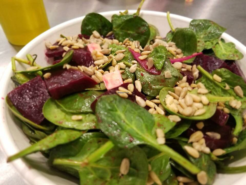 """Photo of Evan's Organic Eatery  by <a href=""""/members/profile/NotoriousEEP"""">NotoriousEEP</a> <br/>Beet Salad <br/> March 13, 2018  - <a href='/contact/abuse/image/111060/370257'>Report</a>"""