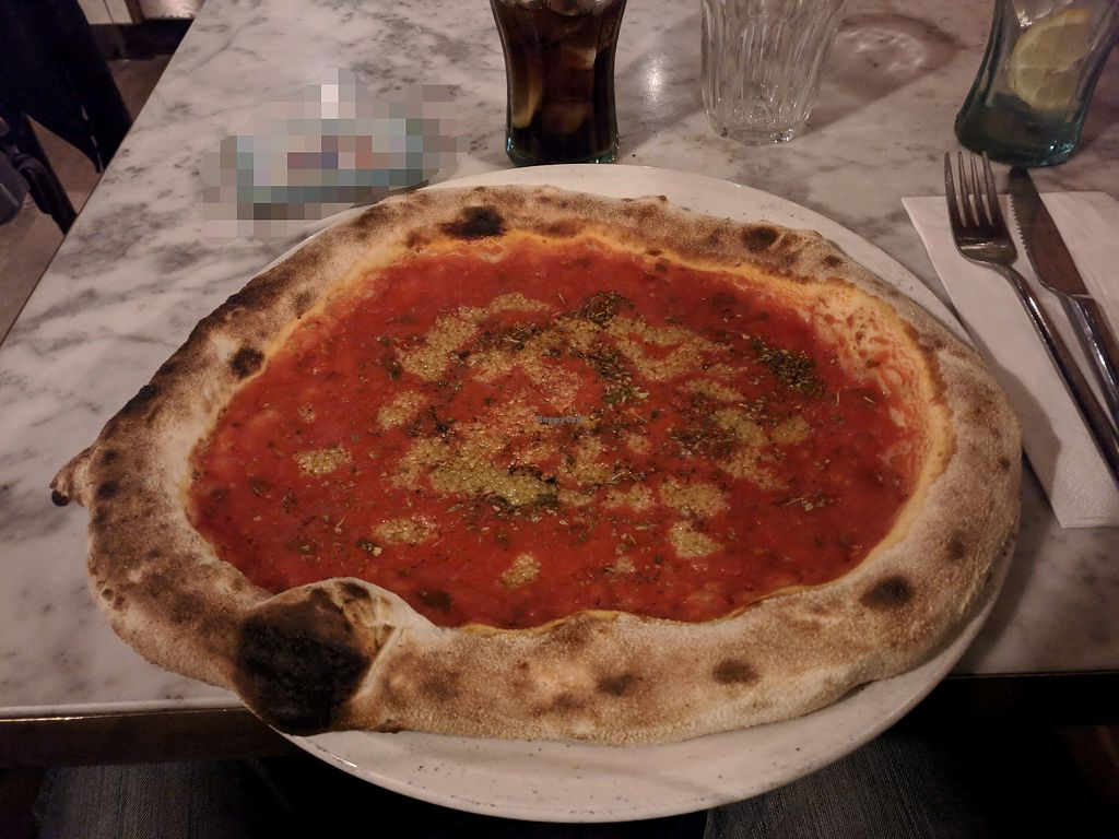 """Photo of Pizza Sophia  by <a href=""""/members/profile/JulianK"""">JulianK</a> <br/>pizza marinara <br/> April 27, 2018  - <a href='/contact/abuse/image/111075/391764'>Report</a>"""