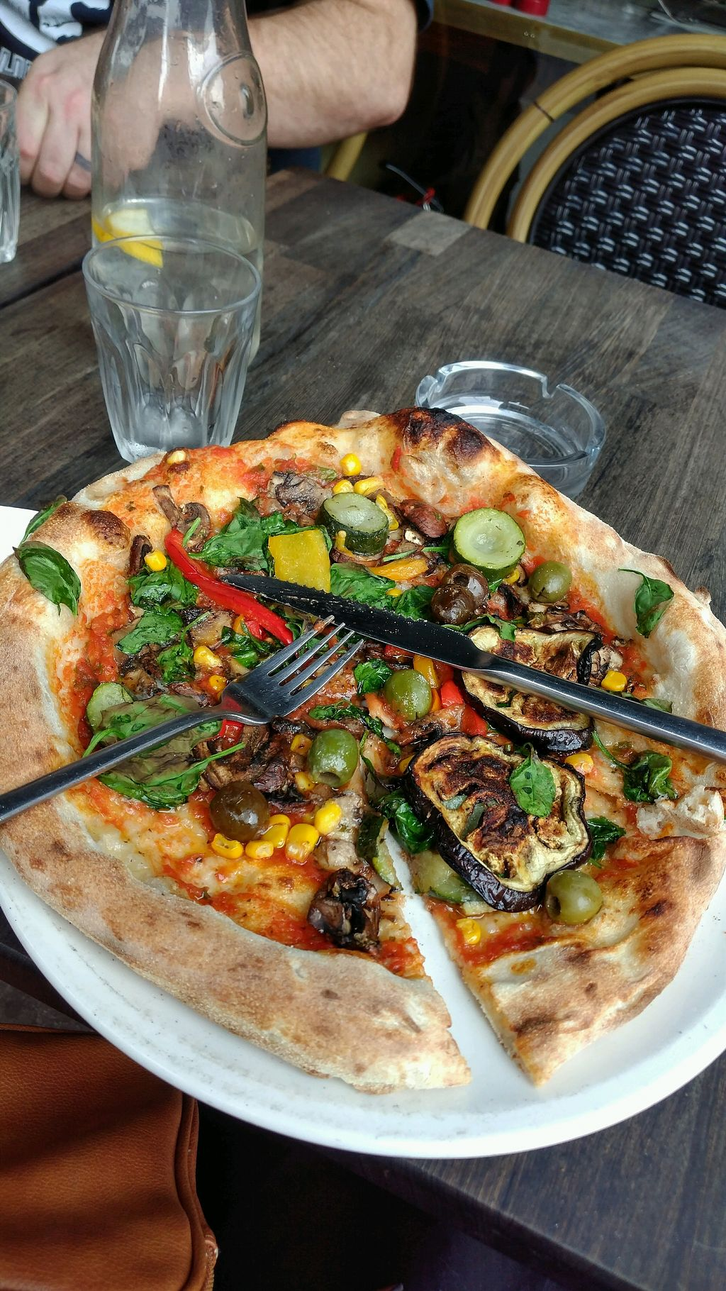 """Photo of Pizza Sophia  by <a href=""""/members/profile/MichelleEllenGrace"""">MichelleEllenGrace</a> <br/>Veganlissimo Pizza <br/> May 24, 2018  - <a href='/contact/abuse/image/111075/404465'>Report</a>"""