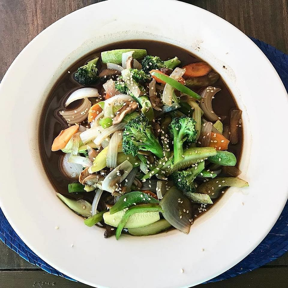 "Photo of El Zarape Malecón   by <a href=""/members/profile/YanethGris"">YanethGris</a> <br/>Steamed vegetables in soy sauce <br/> February 4, 2018  - <a href='/contact/abuse/image/111108/355040'>Report</a>"