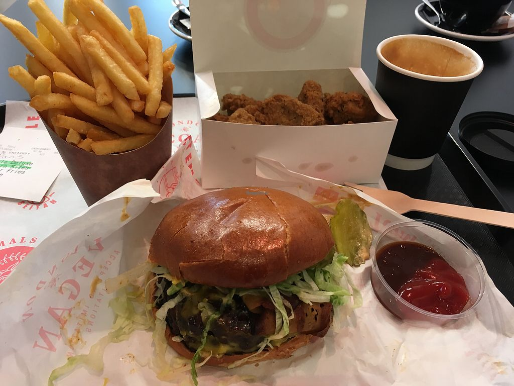 """Photo of Temple of Camden  by <a href=""""/members/profile/redshift86"""">redshift86</a> <br/>Temple deluxe, coffee, fries and pop corn bites <br/> February 4, 2018  - <a href='/contact/abuse/image/111116/354931'>Report</a>"""