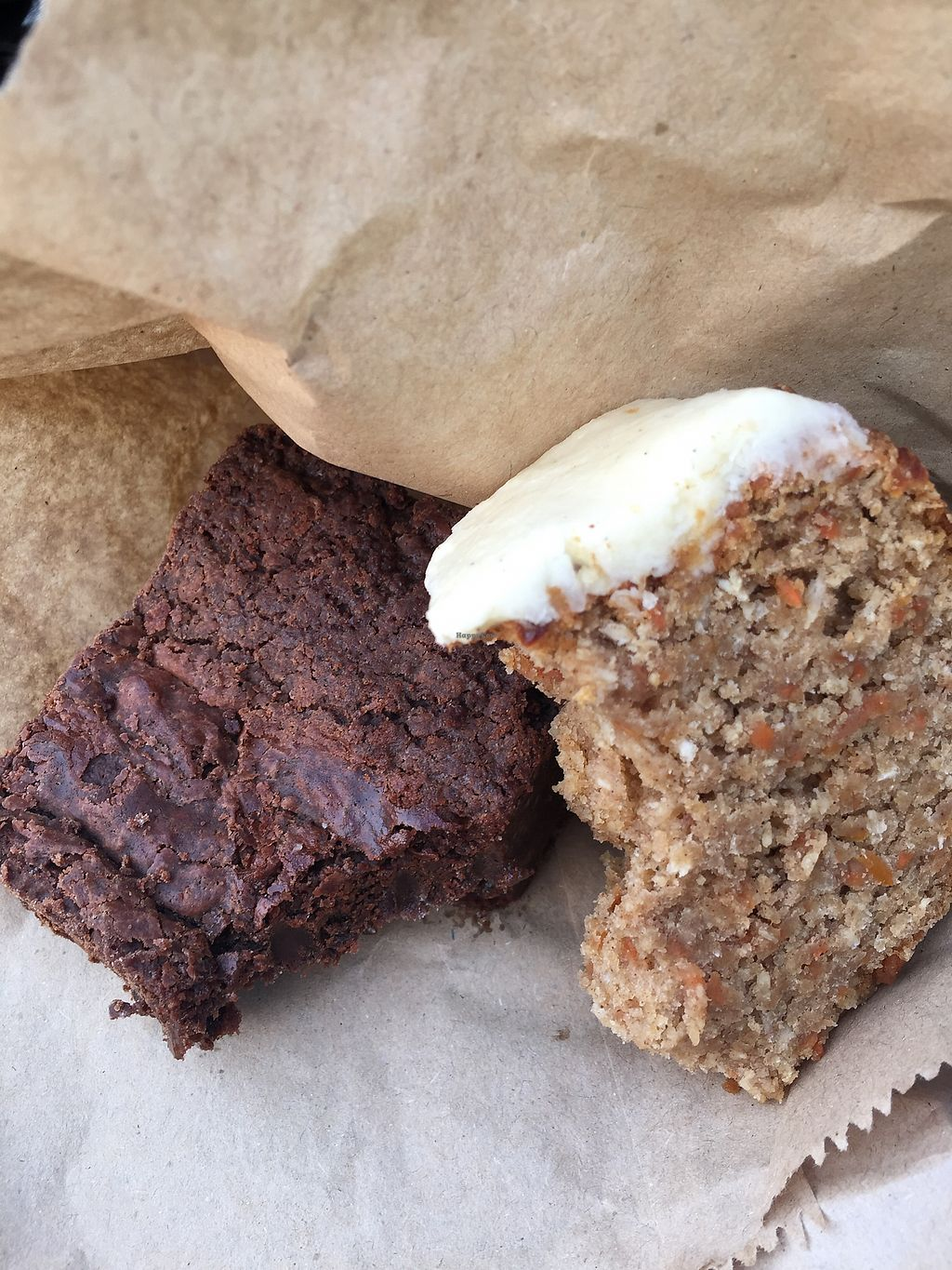 """Photo of Temple of Camden  by <a href=""""/members/profile/milcheto"""">milcheto</a> <br/>Carrot cake and brownie <br/> April 7, 2018  - <a href='/contact/abuse/image/111116/382047'>Report</a>"""