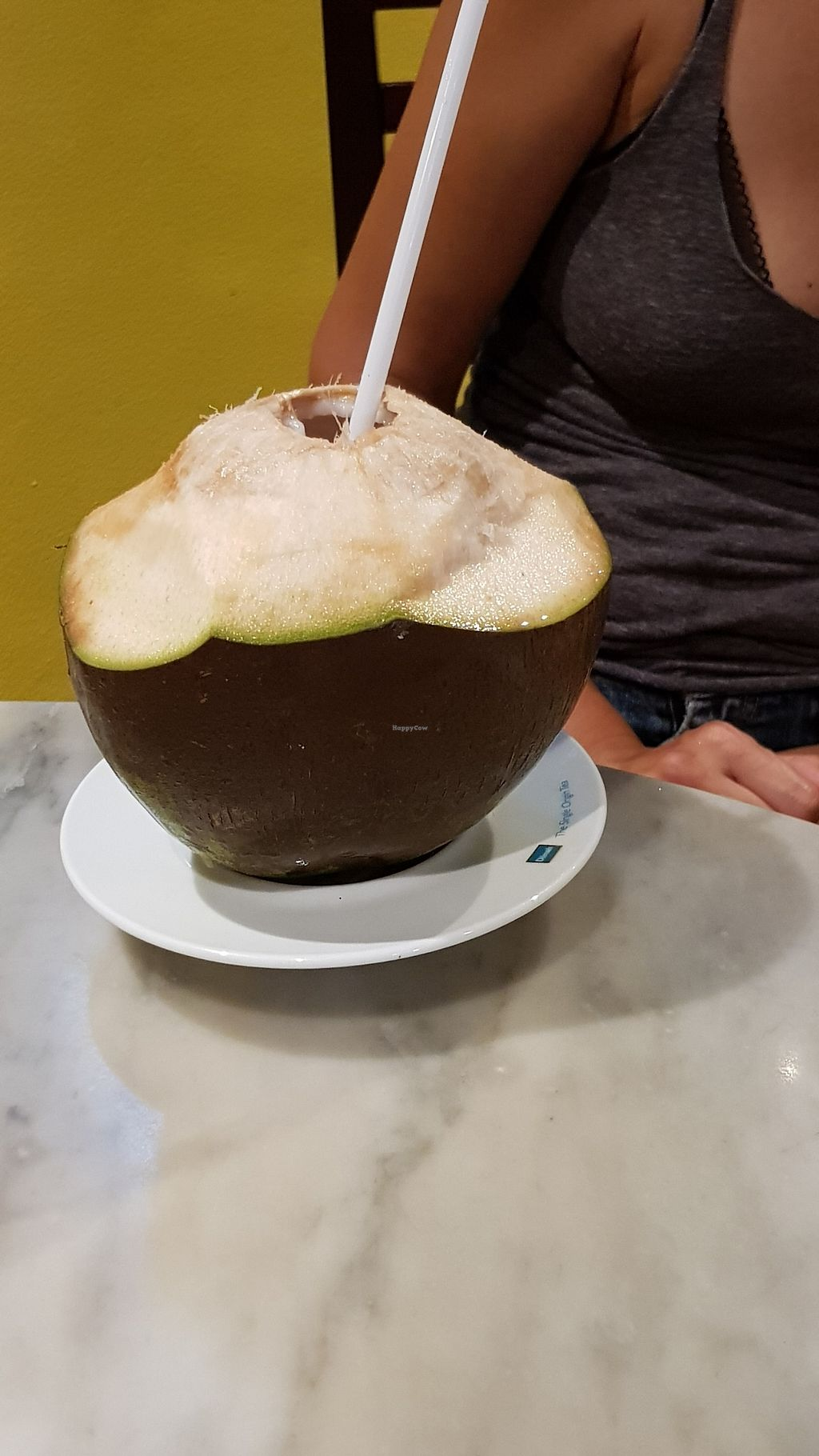 """Photo of Bulaccino Cafe  by <a href=""""/members/profile/Hotfuzzy69"""">Hotfuzzy69</a> <br/>Fresh coconut! :) <br/> February 4, 2018  - <a href='/contact/abuse/image/111120/354765'>Report</a>"""