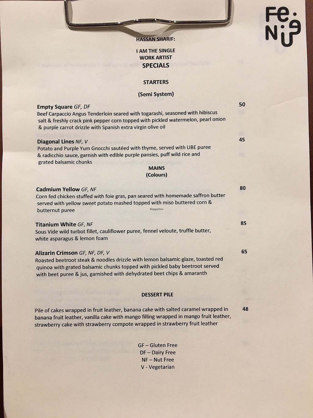 """Photo of Fen  by <a href=""""/members/profile/maya.a"""">maya.a</a> <br/>Restaurant specials menu <br/> February 4, 2018  - <a href='/contact/abuse/image/111124/354680'>Report</a>"""