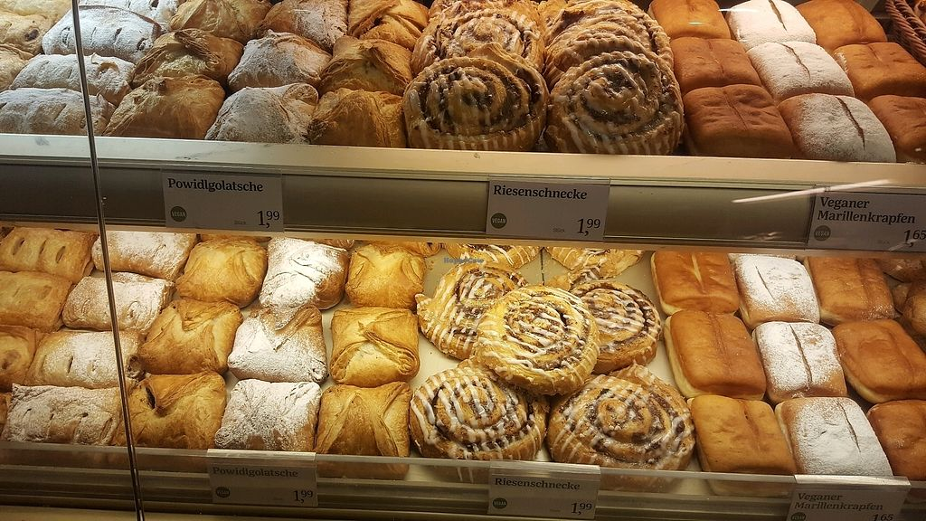 """Photo of Anker Brot  by <a href=""""/members/profile/loveforveganfood"""">loveforveganfood</a> <br/>vegan pastries  <br/> February 4, 2018  - <a href='/contact/abuse/image/111142/354782'>Report</a>"""
