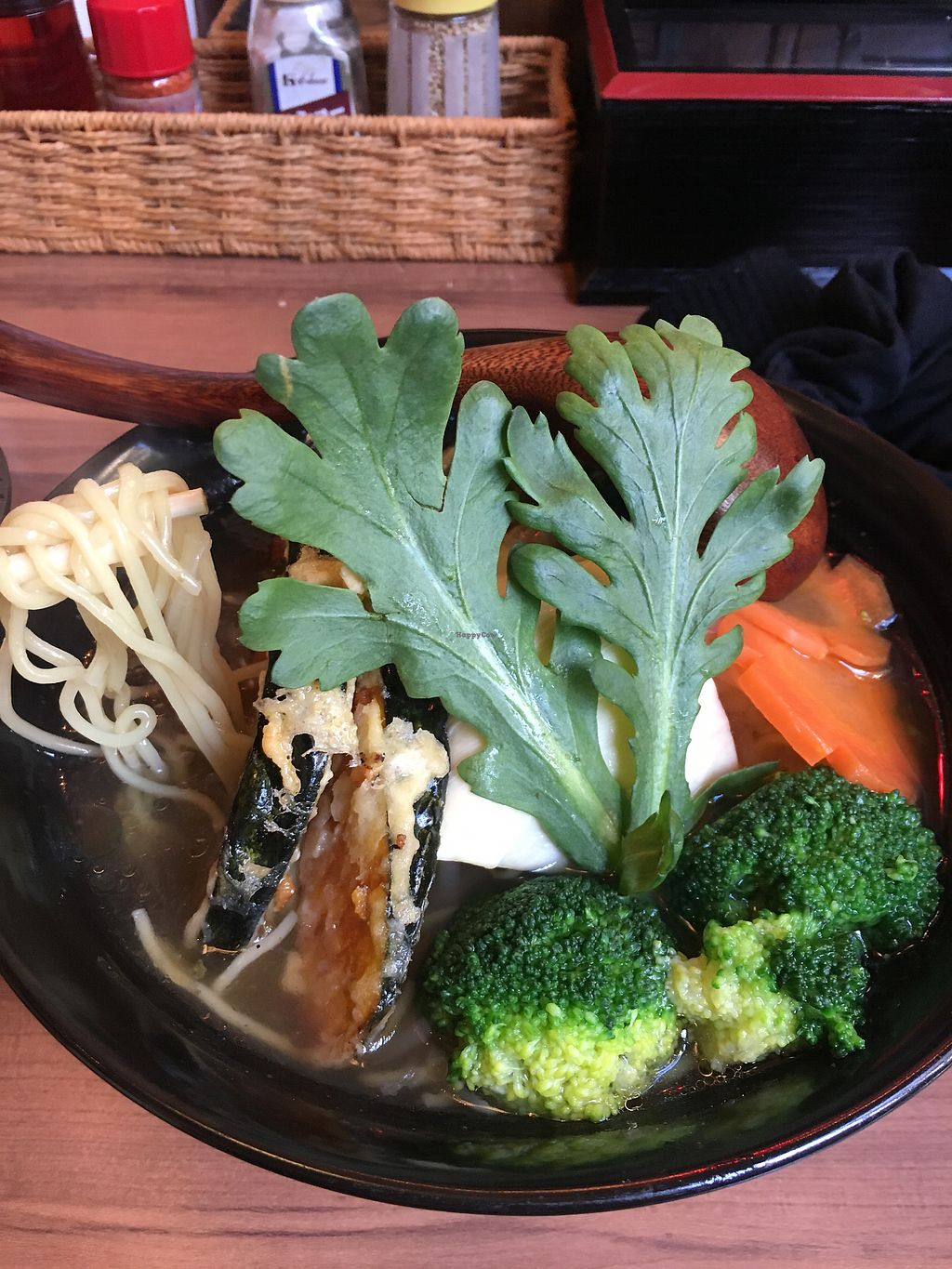 """Photo of Ramen Sen No Kaze  by <a href=""""/members/profile/LaurenJumikis"""">LaurenJumikis</a> <br/>Veggie ramen with kelp broth  <br/> February 14, 2018  - <a href='/contact/abuse/image/111143/359119'>Report</a>"""