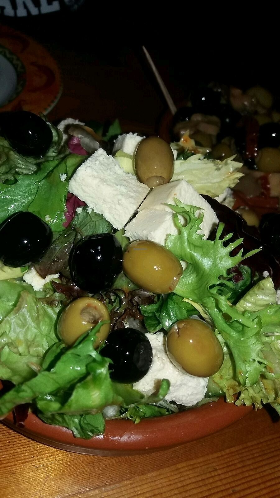 """Photo of Tapas Tree  by <a href=""""/members/profile/sgacton"""">sgacton</a> <br/>greek salad <br/> February 4, 2018  - <a href='/contact/abuse/image/111166/354724'>Report</a>"""