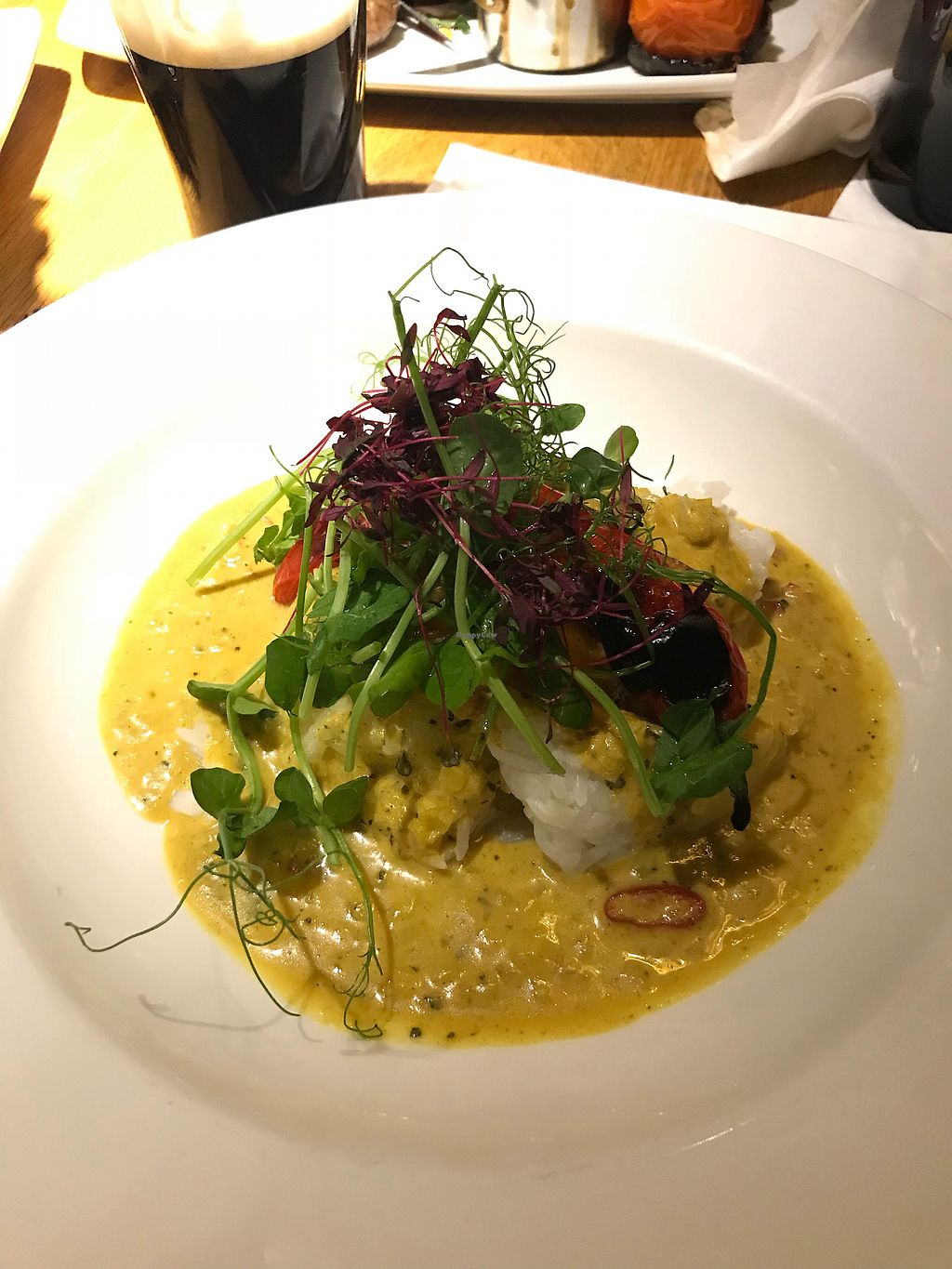 """Photo of The Rose and Crown  by <a href=""""/members/profile/Brunorg"""">Brunorg</a> <br/>Spiced coconut curry <br/> March 8, 2018  - <a href='/contact/abuse/image/111179/368075'>Report</a>"""