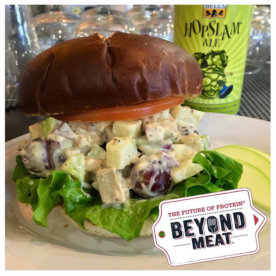 "Photo of Epic Deli  by <a href=""/members/profile/EmilyOtis"">EmilyOtis</a> <br/>Vegan beyond meat chicken salad sandwich with just mayo. This is one of their specials and not a permanent menu item <br/> February 5, 2018  - <a href='/contact/abuse/image/111182/355152'>Report</a>"