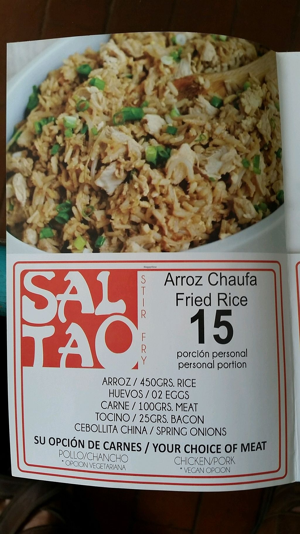 """Photo of Sal Tao Stir Fry  by <a href=""""/members/profile/DrBB"""">DrBB</a> <br/>menu 2 <br/> February 4, 2018  - <a href='/contact/abuse/image/111185/354941'>Report</a>"""