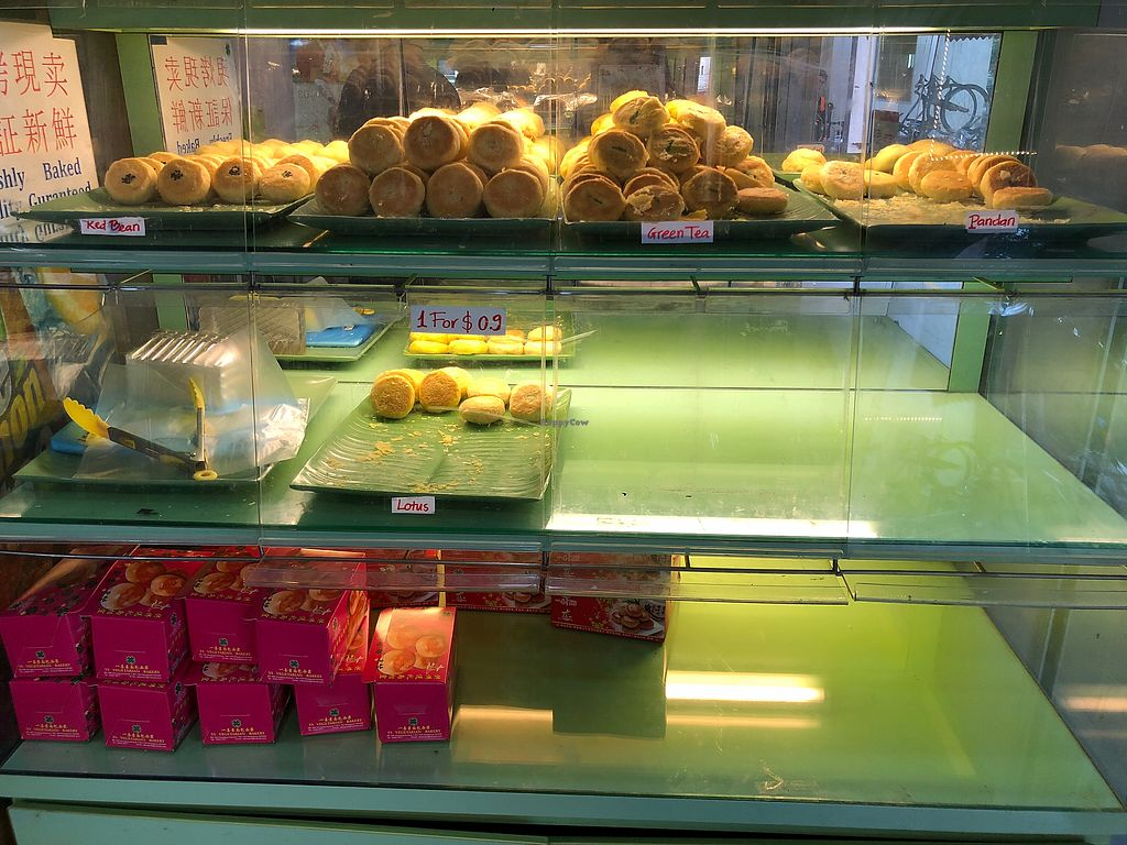 """Photo of YS Vegetarian Bakery  by <a href=""""/members/profile/Starmone"""">Starmone</a> <br/>Chinese pies <br/> March 17, 2018  - <a href='/contact/abuse/image/111200/371746'>Report</a>"""