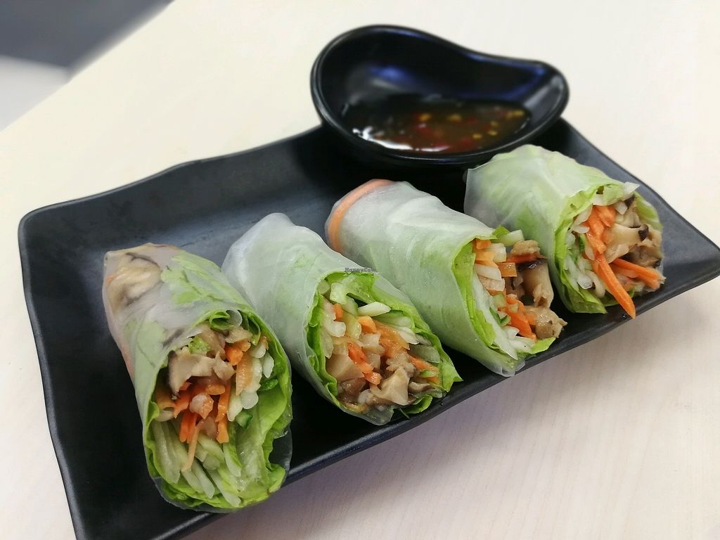 """Photo of Veggie House - Toa Payoh  by <a href=""""/members/profile/JunXuan"""">JunXuan</a> <br/>spring roll set <br/> February 7, 2018  - <a href='/contact/abuse/image/111216/355933'>Report</a>"""