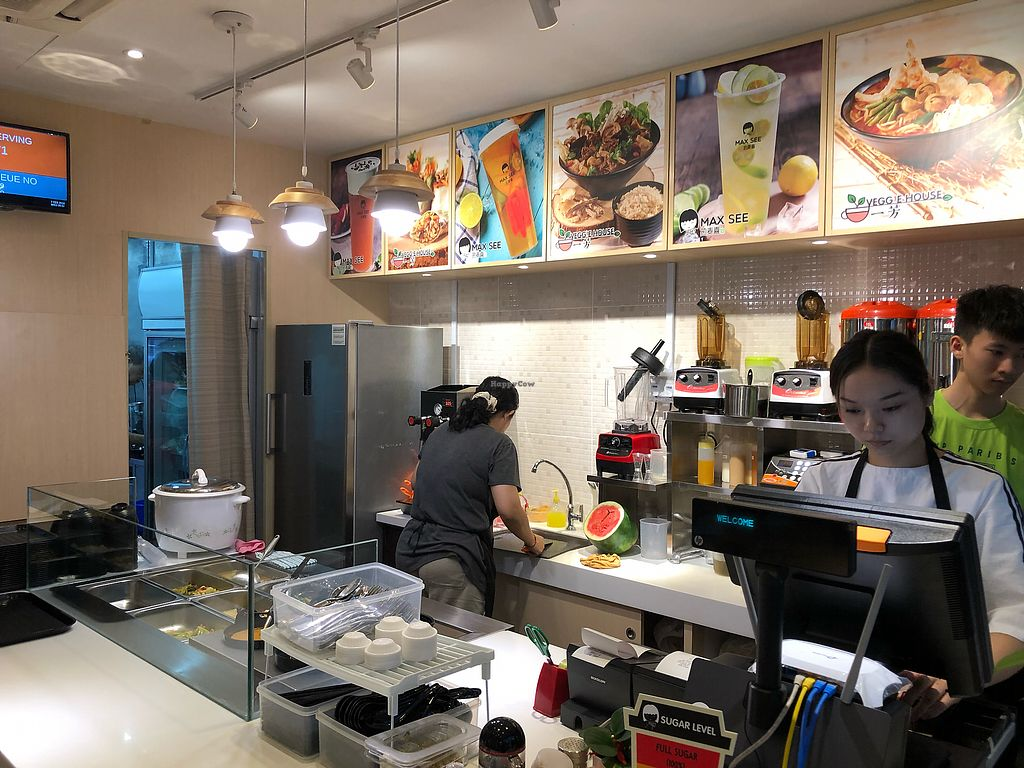 """Photo of Veggie House - Toa Payoh  by <a href=""""/members/profile/CherylQuincy"""">CherylQuincy</a> <br/>Interior <br/> February 7, 2018  - <a href='/contact/abuse/image/111216/356068'>Report</a>"""