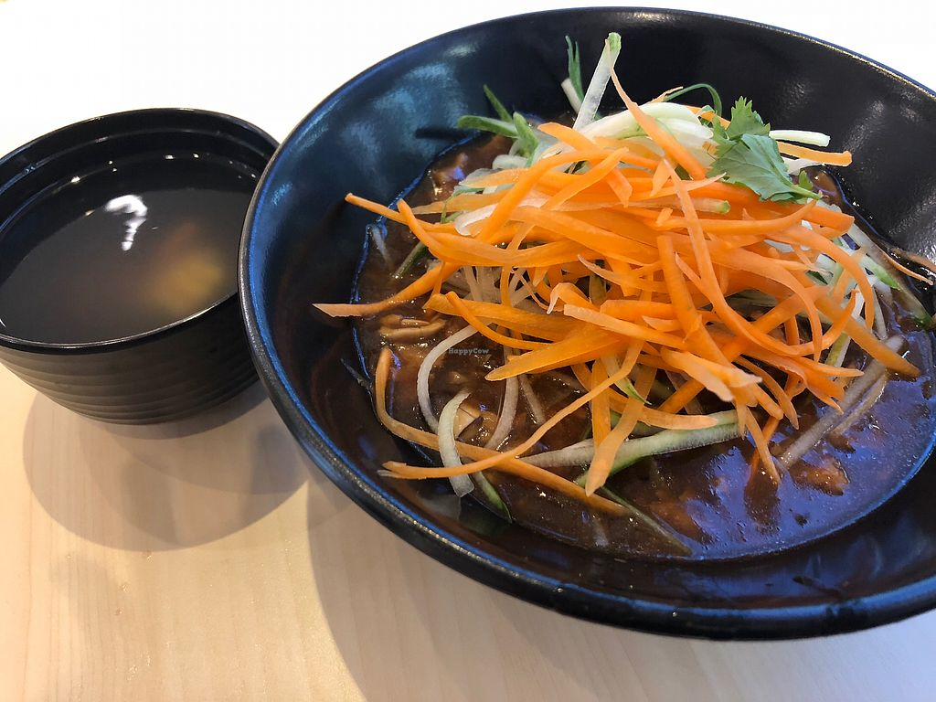 """Photo of Veggie House - Toa Payoh  by <a href=""""/members/profile/AmyLeySzeThoo"""">AmyLeySzeThoo</a> <br/>Minced Soya Noodle <br/> May 12, 2018  - <a href='/contact/abuse/image/111216/398517'>Report</a>"""