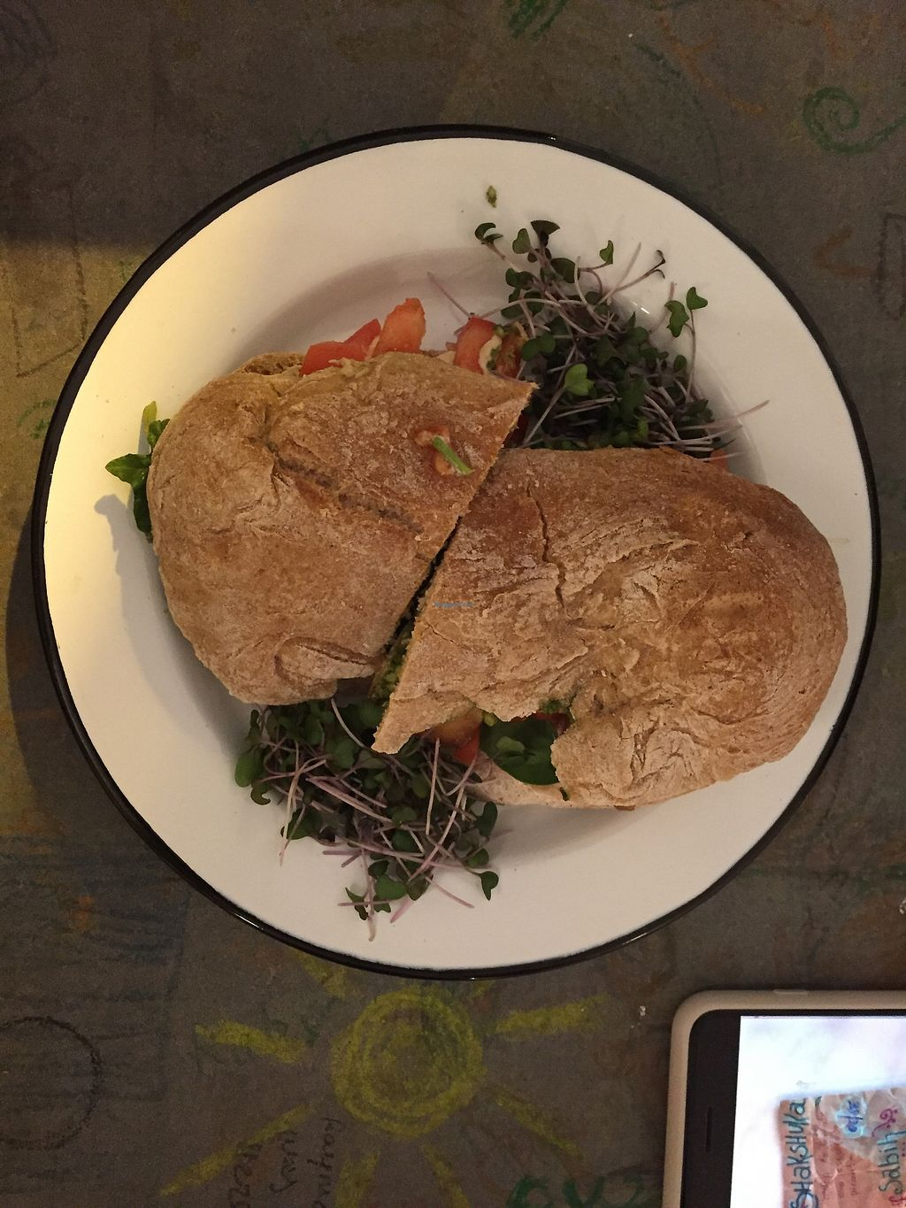 """Photo of Eight - The Health Lounge  by <a href=""""/members/profile/Joanacurado"""">Joanacurado</a> <br/>Husband's Panini <br/> February 26, 2018  - <a href='/contact/abuse/image/111218/364118'>Report</a>"""