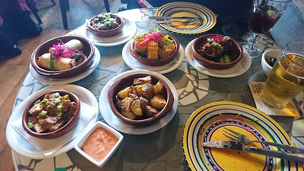 """Photo of Gaudi's  by <a href=""""/members/profile/Mochan"""">Mochan</a> <br/>Various warm tapas <br/> March 31, 2018  - <a href='/contact/abuse/image/111248/378996'>Report</a>"""