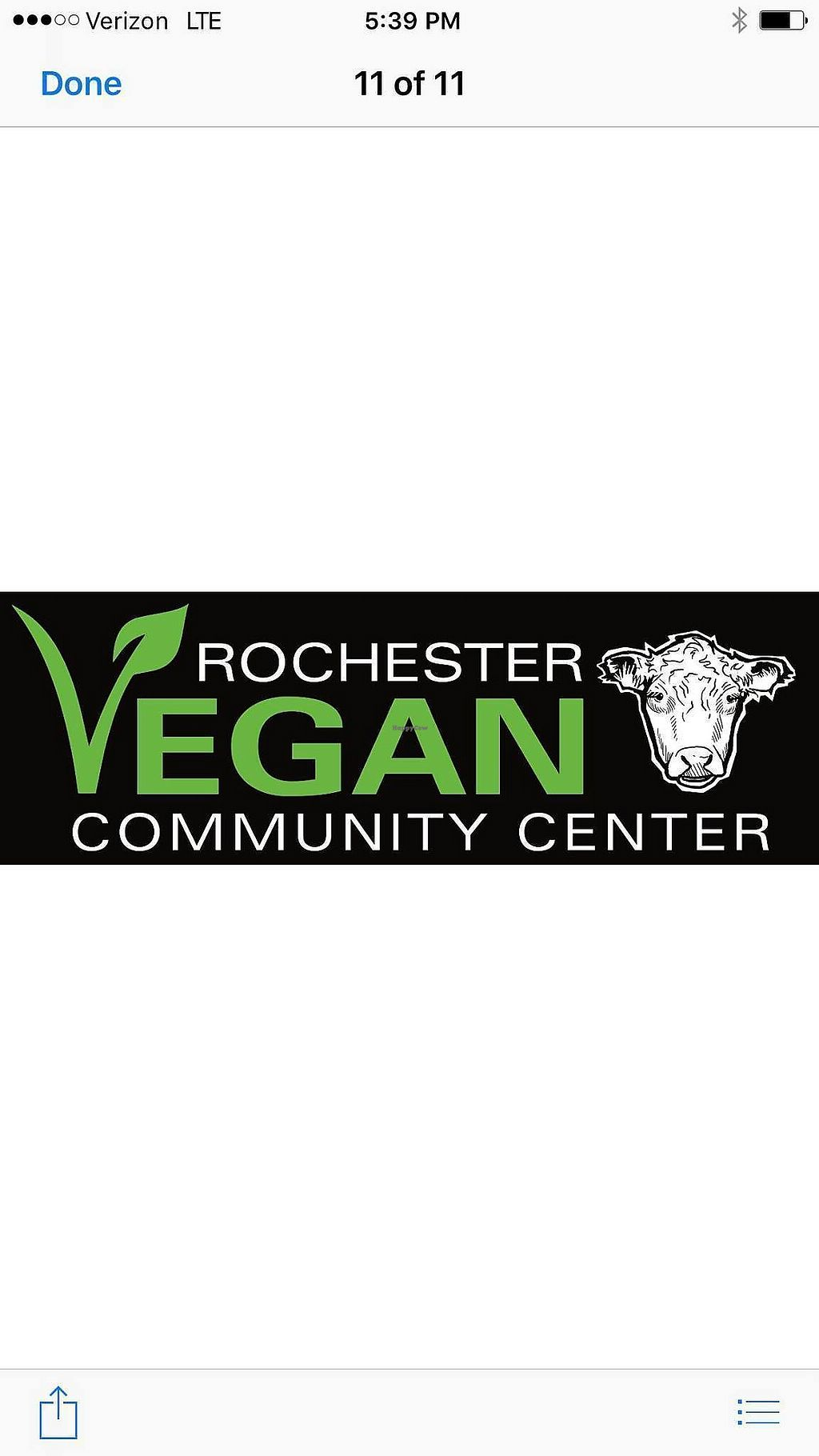 """Photo of Rochester Vegan Community Center  by <a href=""""/members/profile/Michael%20Isavegan"""">Michael Isavegan</a> <br/>Bumper Sticker <br/> February 5, 2018  - <a href='/contact/abuse/image/111285/355286'>Report</a>"""