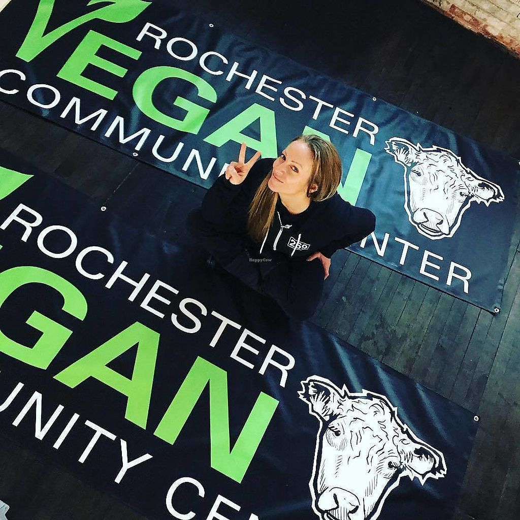 """Photo of Rochester Vegan Community Center  by <a href=""""/members/profile/Michael%20Isavegan"""">Michael Isavegan</a> <br/>Mary <br/> February 5, 2018  - <a href='/contact/abuse/image/111285/355290'>Report</a>"""