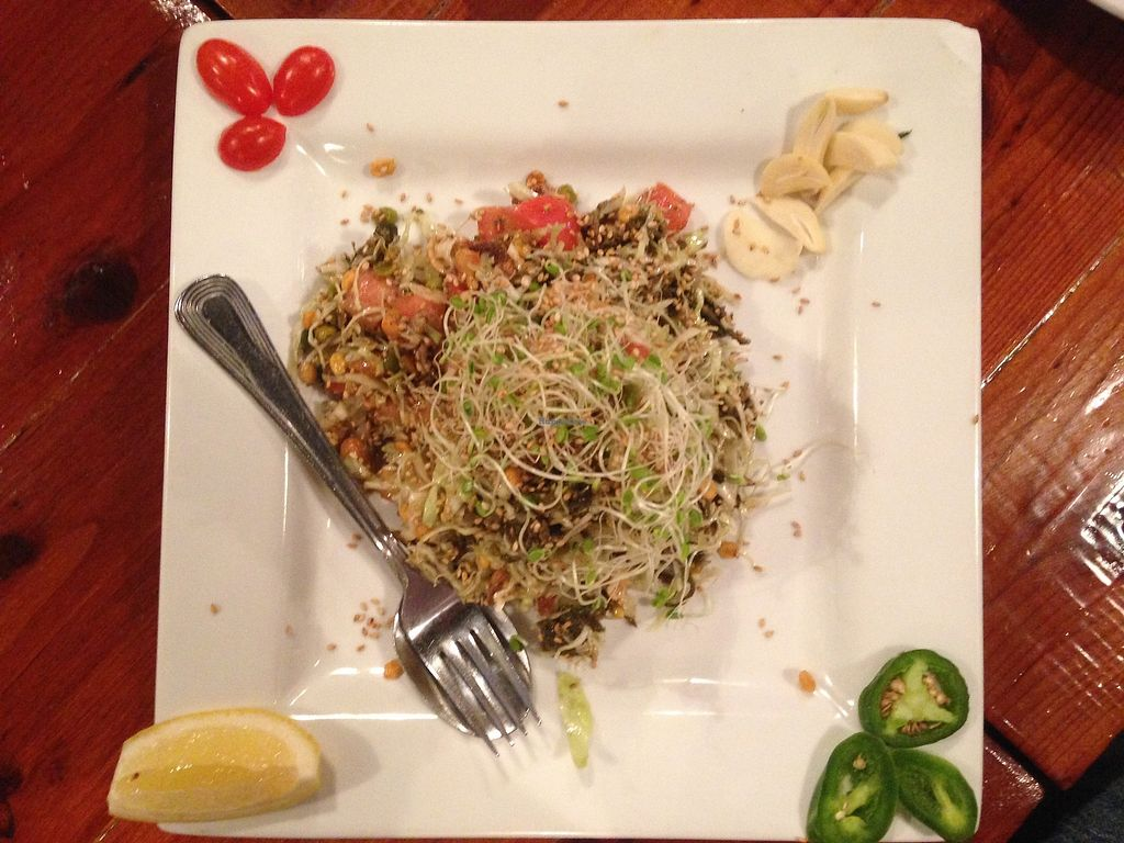 """Photo of Dagon  by <a href=""""/members/profile/VeganDietGuy"""">VeganDietGuy</a> <br/>Garlic noodle <br/> April 8, 2018  - <a href='/contact/abuse/image/111311/382273'>Report</a>"""