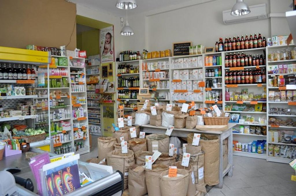 """Photo of CLOSED: Zelen Bio  by <a href=""""/members/profile/AnitaKlasanova"""">AnitaKlasanova</a> <br/>The first vegetarian health and organic store My Organic Market in Sofia, Bulgaria. The first organic shop in town back in 2006. Don't miss our unique offers, stone milled whole flour, bulk grains, seed, Superfoods. online store www.bioslunceluna.com <br/> January 23, 2014  - <a href='/contact/abuse/image/11131/63006'>Report</a>"""