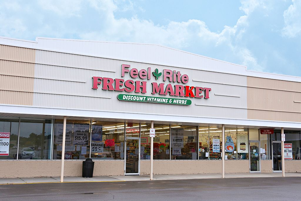 "Photo of Feel-Rite Fresh Market - Hamburg  by <a href=""/members/profile/feelrite"">feelrite</a> <br/>Feel Rite Hamburg Store Front <br/> September 29, 2016  - <a href='/contact/abuse/image/11133/178455'>Report</a>"