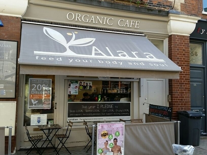 """Photo of Alara Health Store  by <a href=""""/members/profile/eric"""">eric</a> <br/>cafe from outside <br/> October 4, 2016  - <a href='/contact/abuse/image/11136/179633'>Report</a>"""