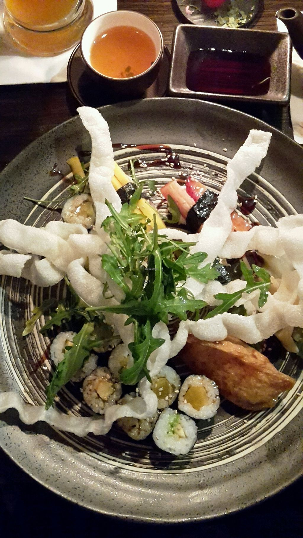 """Photo of Hiro Sushi  by <a href=""""/members/profile/Wilkou"""">Wilkou</a> <br/>vegan sushi <br/> February 13, 2018  - <a href='/contact/abuse/image/111374/358858'>Report</a>"""