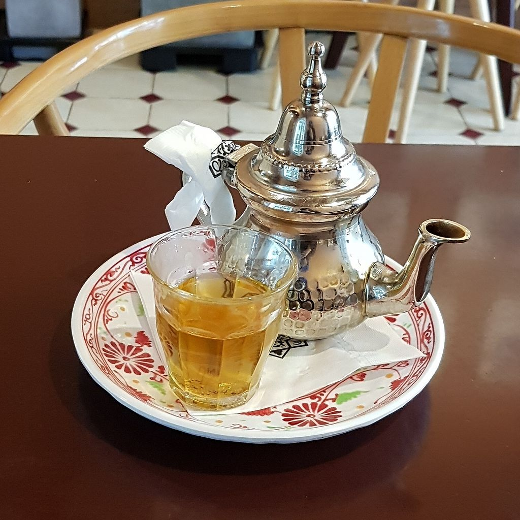 """Photo of Morococo Cafe - 모로코코 카페  by <a href=""""/members/profile/mfrenette"""">mfrenette</a> <br/>Moroccan Tea <br/> February 7, 2018  - <a href='/contact/abuse/image/111384/355903'>Report</a>"""