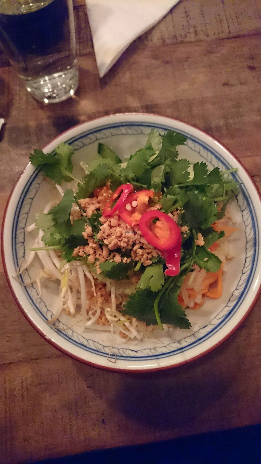 """Photo of District Tonkin  by <a href=""""/members/profile/YayVeganFood"""">YayVeganFood</a> <br/>Bun Chay - Rice Noodle Salad with Steamed Tofu <br/> February 17, 2018  - <a href='/contact/abuse/image/111411/360498'>Report</a>"""
